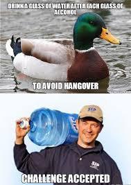 Funny Hangover Memes - no hangover