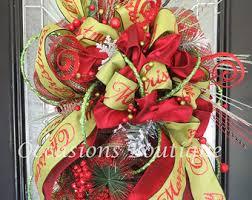 door wreaths door decor whimsical decor by occasionsboutique