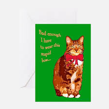 cat pun greeting cards thank you cards and custom cards cafepress