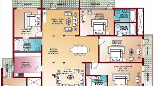 4 bedroom floor plans home design decorating and improvement