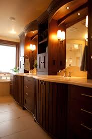 Bathroom Counter Cabinets by Elegant Bathroom Vanity Cabinets Made Of Wood Designoursign