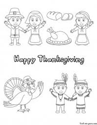printable happy thanksgiving coloring printable