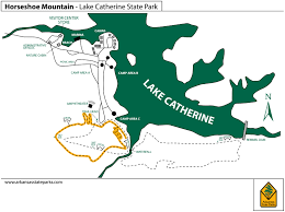 Map Of Arkansas State Parks by Lake Catherine State Park Arkansas Horseshoe Mountain Trail Hike