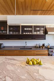 kitchen wooden style modern kitchen design marble countertop