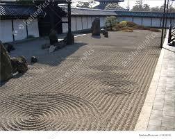japanese zen garden stock image i1114110 at featurepics