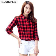 plus size blouses riuooplie fashion casual lapel plus size blouses plaid