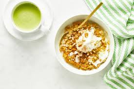 holiday breakfast in a jiffy carrot cake oatmeal u2014 oh she glows