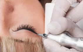 eyeliner tattoo images what is an eyeliner tattoo with pictures