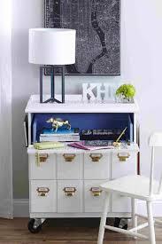 le bureau design pas cher bois armoire bureau secretaire design tiroirs en teck