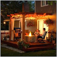Patio String Lights by Lighting Ideas For Decks Lighting Ideas For Outdoor Patio String