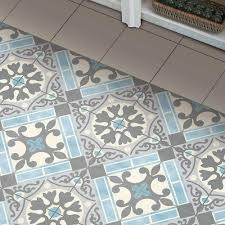 merola tile evasion azul 17 5 8 in x 17 5 8 in ceramic floor and
