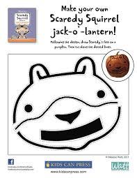 make your own scaredy squirrel jack o u0027 lantern scaredy squirrel