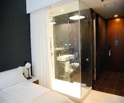 Hospitality  Hotel Dynamic Electronic Glass Bathroom  Bedroom - Glass bathroom