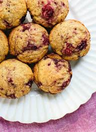 raspberry recipes healthy raspberry muffins recipe cookie and kate