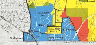 Crime Map Atlanta by Stumptown Ga Poole Creek Blair Village And The Meaning Of U201cthe