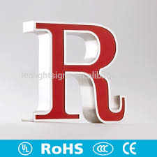 super bright outdoor waterproof metal acrylic marquee letters