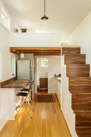 houses with stairs gorgeous tiny house boasts 14 windows and nifty storage stairs