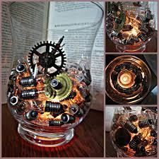 Diy Steampunk Home Decor Simply Steampunk Candle Holder Volunteer Banquet Key Pinterest