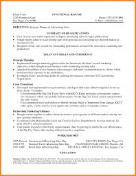 Summary Qualifications Resume Examples by Resume Format Summary Of Qualifications Resume Example Summary