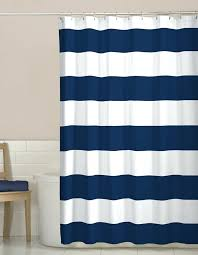 Blue Ticking Curtains Navy Blue Striped Curtains Teawing Co