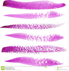 bright violet watercolor paint vector strokes royalty free stock