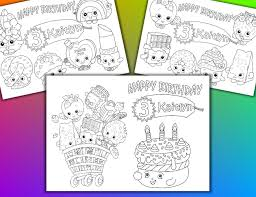 shopkins birthday party favor shopkins coloring pages pdf