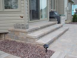 Patio Brick Pavers Project Plan For Ppaver Steps Crazygoodbread Home