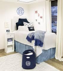Blue Dorm Room The Velvet Blue Collection U2013 Dorm Decor