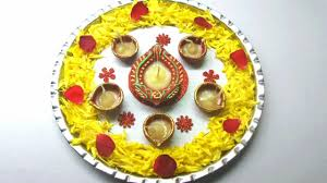 how to decorate pooja thali simple and easy decoration pooja