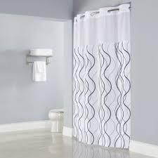 Light Grey Shower Curtain Navy And Grey Shower Curtain Sweet Jojo Designs Navy Blue Gray