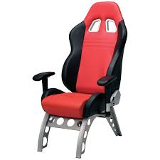 Red Office Furniture by Pitstop Gt Receiver Chair Red