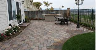 Backyard Concrete Ideas Download Concrete Paving Ideas Garden Design