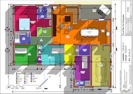 plan maison 4 chambres plan maison moderne 4 chambres 13 contemporaine d du de