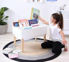 childrens desk and bookshelves kids bookshelf bookcases with toy storage hip kids