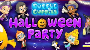 bubble cuppies halloween party kids game color brush youtube