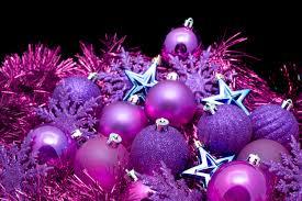 wonderful inspiration purple christmas decorations simple