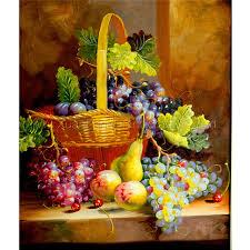fruit flower basket aliexpress buy fruit and flower baskets wall arts