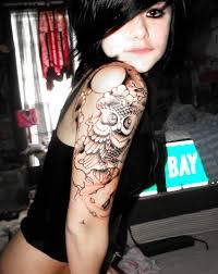 tattoo girl owl new owl tattoo by xmellowdeex on deviantart