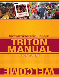 2015 2016 umsl triton manual by umsl campus life issuu