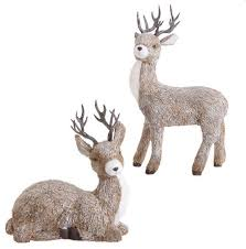 charming ideas outdoor decorations deer lighted wooden