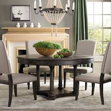 custom round dining tables custom turned post dining table bassett furniture with regard to