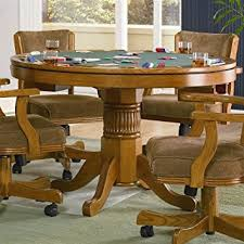 Where To Buy Gaming Chair Amazon Com Mitchell 5 Pc Game Table Set By Coaster Table