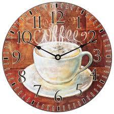 Decorative Wall Clock Fresh Cup Of Coffee Decorative Wall Clock 12