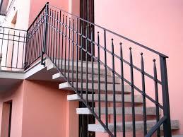 ringhiera metallica ringhiere per scale modena sassuolo prezzo realizzazione corrimano