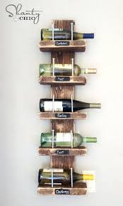 Leaning Bookcase Woodworking Plans by Wine Rack Wine Rack Rustic Wall Mounted 8 Bottle Wine Rack
