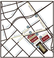 Dallas Convention Center Map by Plan A Visit Dallas Farmers Market