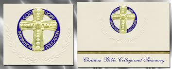 christian graduation announcements christian bible college and seminary graduation announcements