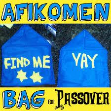afikomen bag how to make an afikoman bag for passover kids crafts