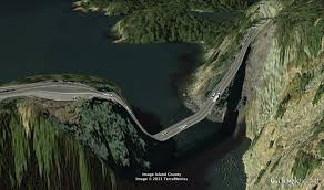 Seattle Google Maps by Deception Pass As Imagined By Google Maps Seattle