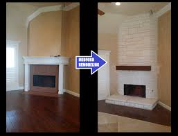 remodeling a fireplace to make it a focal point and getting to